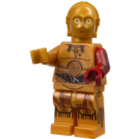 Lego Star Wars The Force Awakens: C-3PO Red Arm - Minifigure